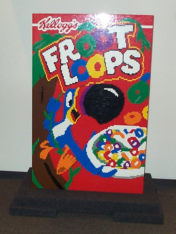 fruit loops car. Fruit Loops Box Fun Facts